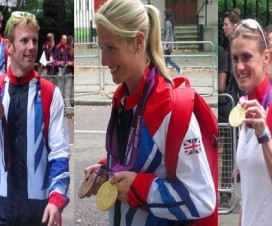 Team GB 2012 Olympic Medal Winner