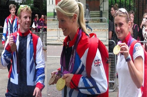 Team GB 2012 Olympic Medal Winner