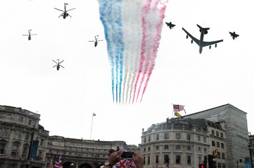 Team GB Olympics Flypast